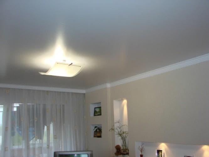 Типовые проекты потолков